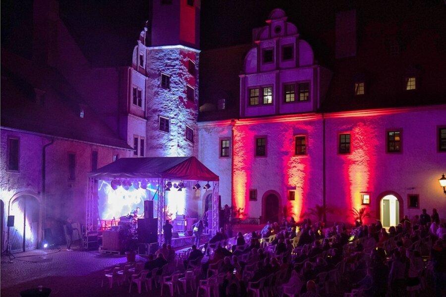 """Zur """"Nacht der Schlösser"""" 2020 waren in Glauchau 150 Gäste zugelassen."""