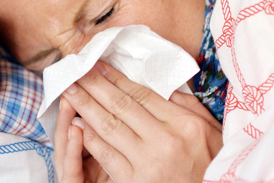Grippewelle: Zweites Todesopfer in Mittelsachsen
