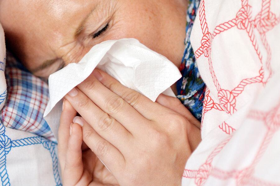 Mittelsachsen: Zahl der Grippefälle steigt sprunghaft an