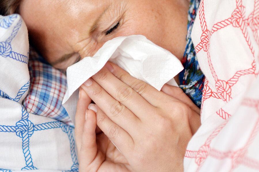 Rekord: 17.000 Sachsen an Grippe erkrankt