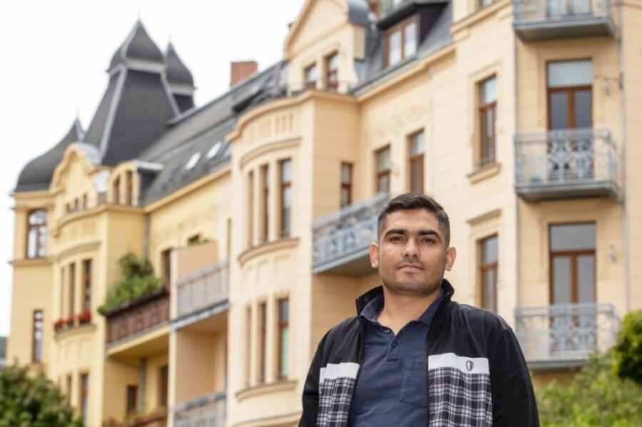 Jalil Torkman kam mit seiner Frau und ihren Eltern nach Plauen. Seine Söhne sind hier geboren.