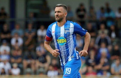 Torschütze zum 1:0: Herthas Stürmer Vedad Ibisevic