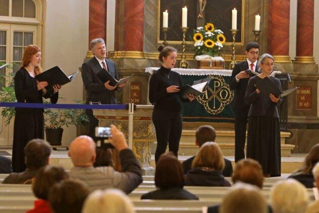 Kleiner Chor präsentiert große Werke in Glauchauer Kirche