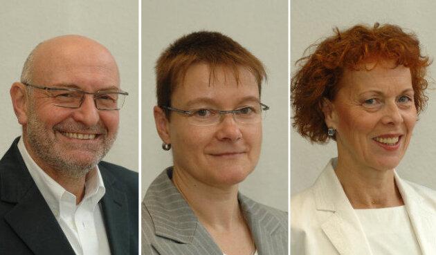 Winfried Krämer, Notar / Rita Kleindienst, Notarin / Sonja Piehler, Notarin (v.l.n.r)