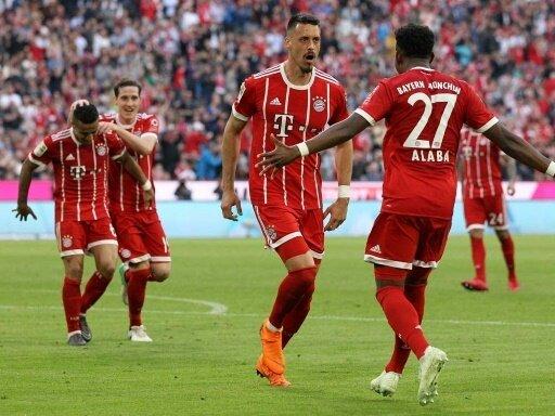 5:1-Erfolg für Bayern - Doppelpack von Sandro Wagner