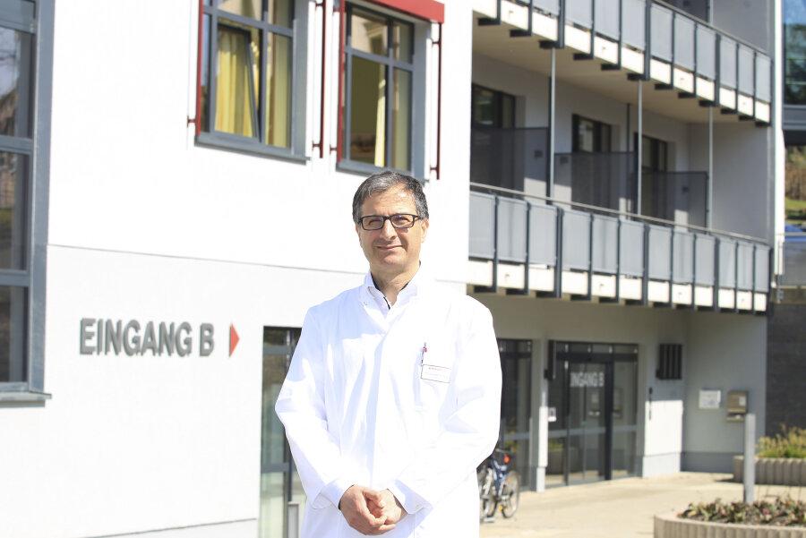 Der neue Chefarzt des Bethanien Krankenhaus Dr. Basel Al Kadah
