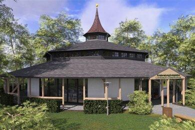 Die architektonische Form des Hippodroms wird wieder aufgebaut.