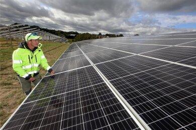 Nach dem Solarpark an der A4 bei Meerane soll in der Region eine weitere leistungsfähige Anlage entstehen.