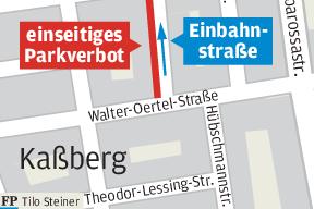 Neue Regeln im Kaßberg-Viertel - Parkraum fällt weg