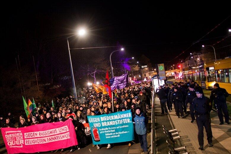 Dresden steht auf für Toleranz und Weltoffenheit