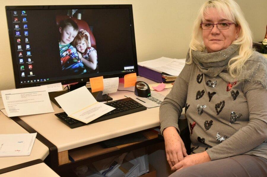 Seit 1974 ist Evelin Dahle die gute Seele im Rathaus Adorf. Jetzt geht sie in den Ruhestand.