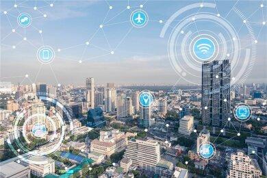 Eine Stadt, in der technische Geräte und Gebäude untereinander vernetzt sind, will US-Unternehmer Jeffrey Berns in Nevada bauen.