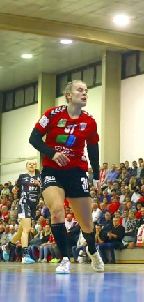 Im Januar kehrte Jenice Funke mit dem SV Union Halle-Neustadt zurück nach Zwickau.