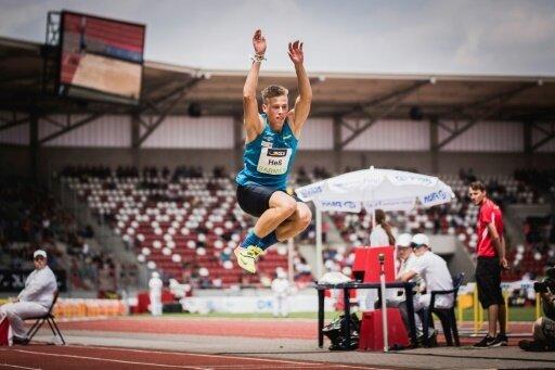 Dreisprung: Max Heß bricht Wettkampf vorzeitig ab