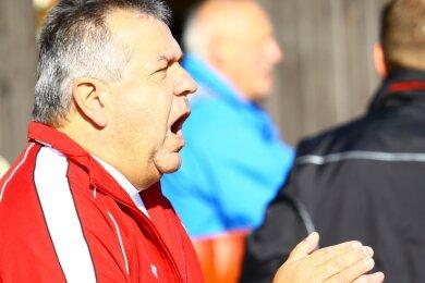 Steffen Richter - hier als Trainer des VfB 07 Zöblitz-Pobershau - hat viele Trainerstationen erlebt.