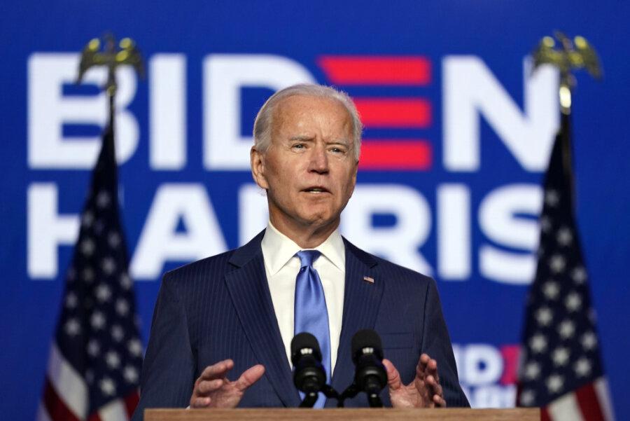 AP und CNN erklären Biden zum Sieger der Präsidentenwahl in den USA