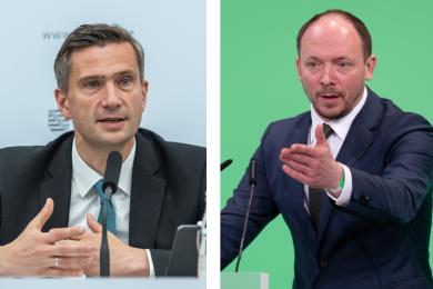 Der sächsische Wirtschaftsminister Martin Dulig und der Ostbeauftragte Marco Wanderwitz.