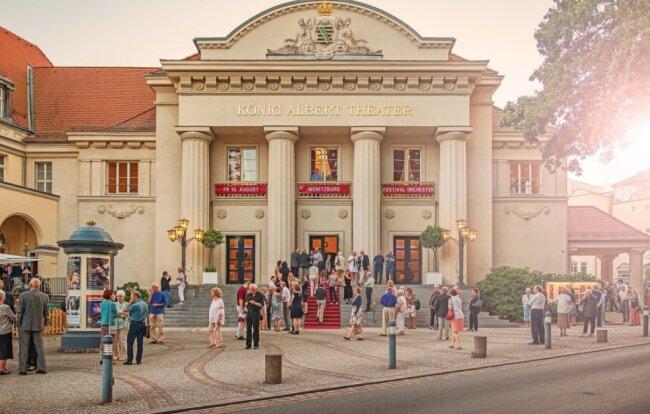 Das Herzstück der Kultur in Bad Elster: Das König-Albert-Theater.