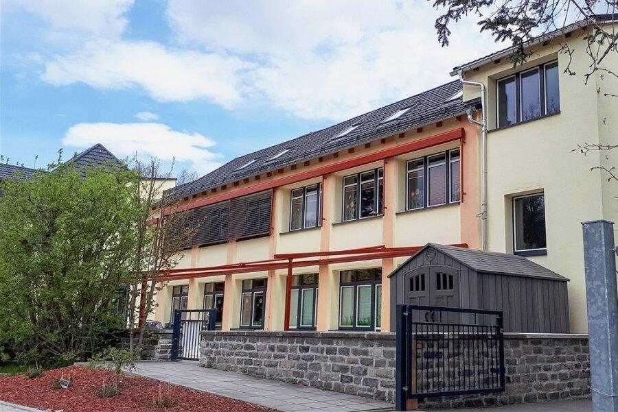 In der Kita an der Lindenstraße in Limbach-Oberfrohna wird in der zweiten Jahreshälfte wieder gebaut. Dann ist das Haus komplett saniert.