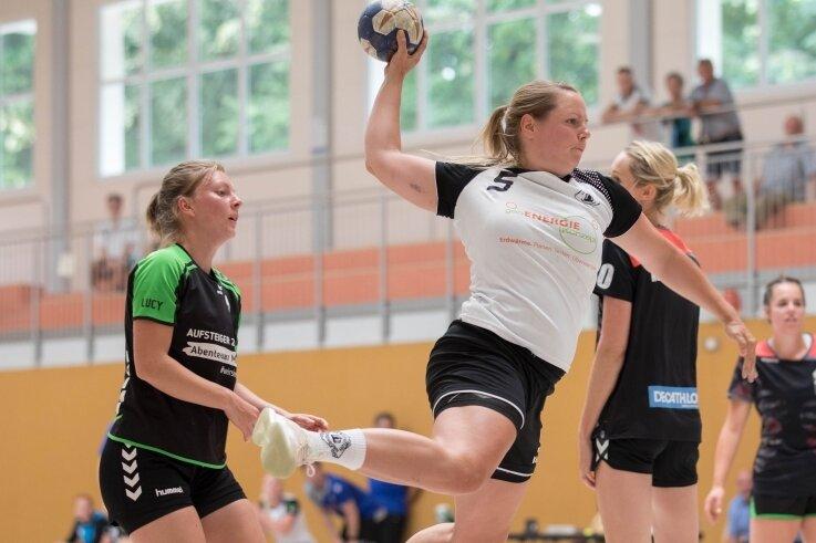 Nicht nur gute Haltungsnoten verdient: Lisa Richter war beim Turnier in Dresden beste Werferin der Rotation-Damen.