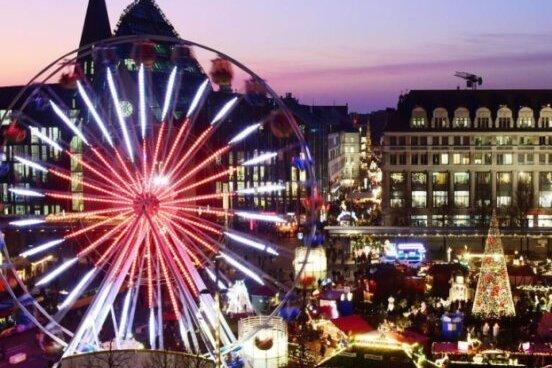 Der diesjährige Leipziger Weihnachtsmarkt ist coronabedingt abgesagt worden.
