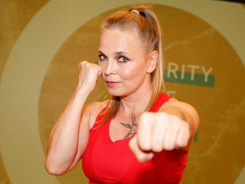 Die ehemalige deutsche Boxsportlerin Regina Halmich.