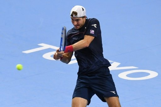 Jan-Lennard Struff steht in Tokio im Viertelfinale