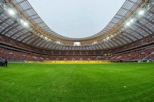 Das Olympiastadion in Moskau ist die größte WM-Arena