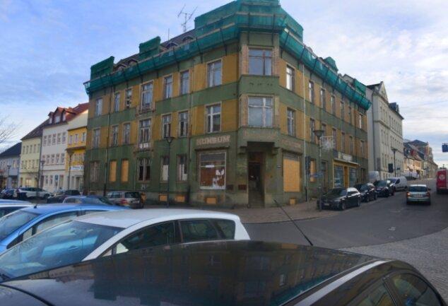 Schlechter erhalten als erwartet: das WGF-Sanierungsprojekt Humboldtstraße 1.