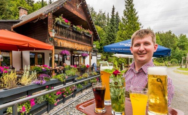 Dave Weber ist der neue Betreiber der Gaststätte Am Wildbach in Steinbach.