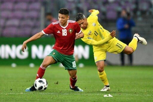 Keine Tore im Spiel von Marokko