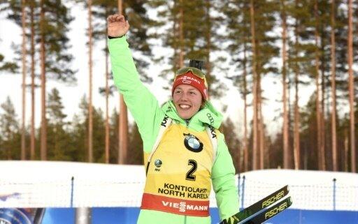 Trotz ihrer Erfolge weiter bescheiden: Laura Dahlmeier
