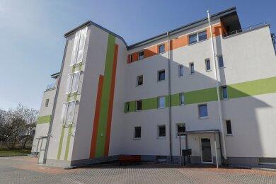 Das Objekt der Limbach-Oberfrohnaer Wohnungsbaugenossenschaft an der Horst-Strohbach-Straße nach der Sanierung.