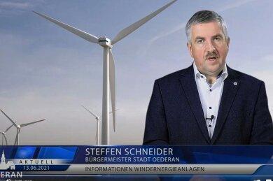 Auch auf dem kommunalen Youtube-Kanal bat Bürgermeister Steffen Schneider um Beteilung an der Bürgerumfrage zur Windkraft.