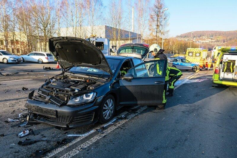 Kollision auf dem Becherweg - zwei Verletzte