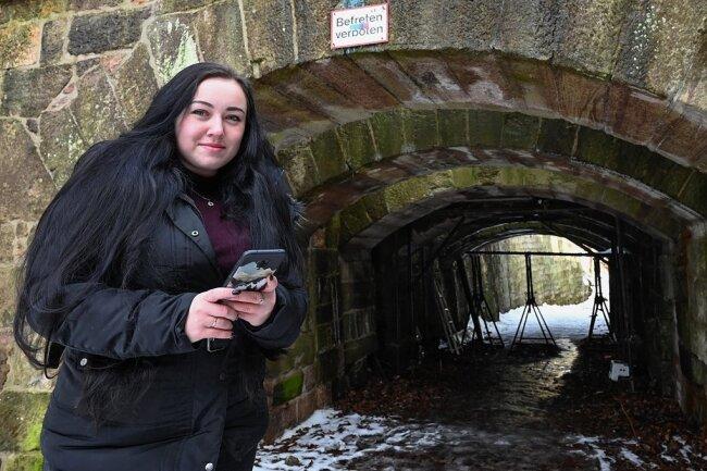An den Teufelsbrücken ist Alexandra Shaburova besonders gerne. Auch hier entstanden schon einige Bilder für ihre Instagram-Kanäle.