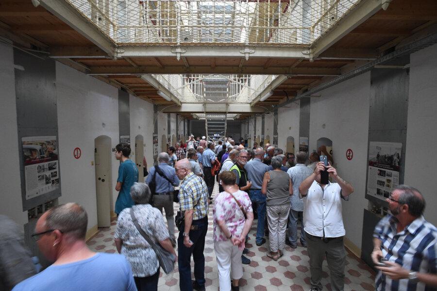 Unentdeckte Orte: Rund 2000 Besucher im Kaßberg-Gefängnis