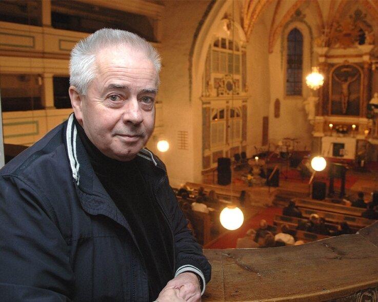 """<p class=""""artikelinhalt"""">Der ehemalige Pfarrer der Leipziger Nikolaikirche, Christian Führer, war am Freitagabend in der Seelitzer St.-Annen-Kirche zu Gast.</p>"""