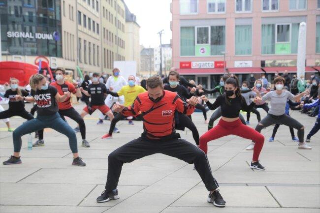 """Die Initiative """"Wir für Sport"""" hat am 1. Mai eingeladen, um eine baldige Öffnung von Sportstätten zu fordern."""