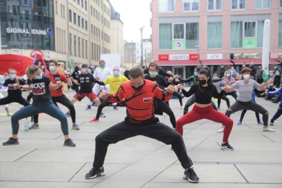 Vereine laden zum öffentlichen Training in Chemnitz