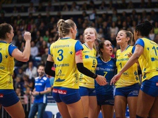 Schwerin steht im Finale der Volleyball-Meisterschaft