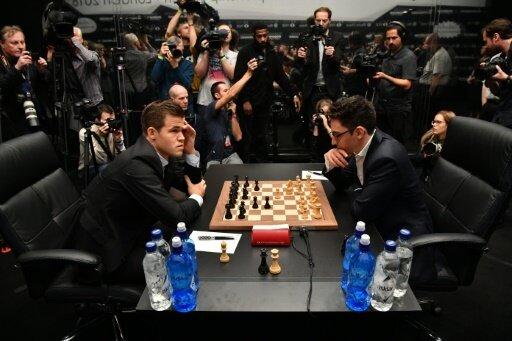 Erneut gab es keinen Sieger zwischen Carlsen und Caruana