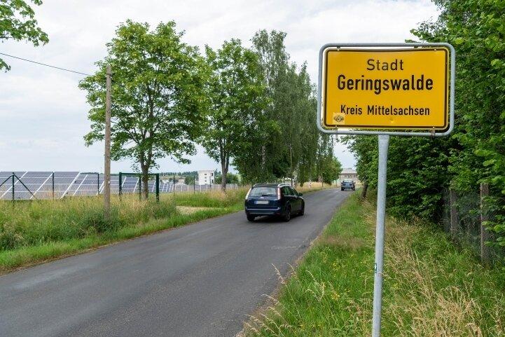 Im Gewerbegebiet Arraser Straße in Geringswalde gibt es noch rund 13 Hektar große freie Flächen. Damit gehört das Areal zu den Gewerbegebieten in Mittelsachsen, die noch viel Platz bieten.