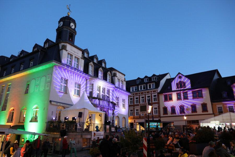Schwarzenberger Weinfest lockt mit Livemusik