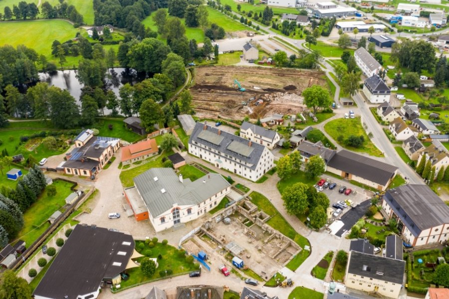 Gärtnereiabriss an Saigerhütte fast beendet