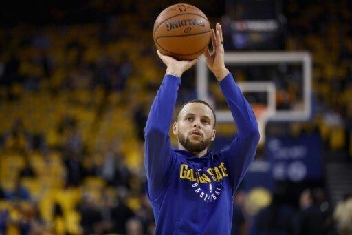 Stephen Curry steht vor seinem Comeback