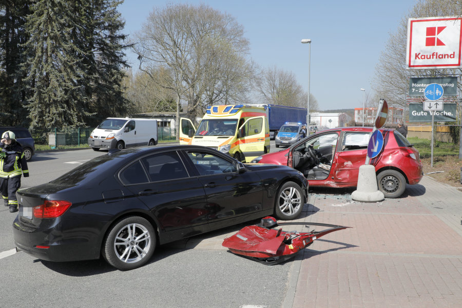 82-Jähriger bei Unfall schwer verletzt