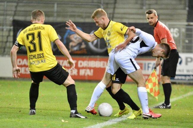 Nach einer völlig verdienten 0:3-Niederlage beim SV Babelsberg schweben die Vogtländer in akuter Abstiegsgefahr in der Fußball-Regionalliga.