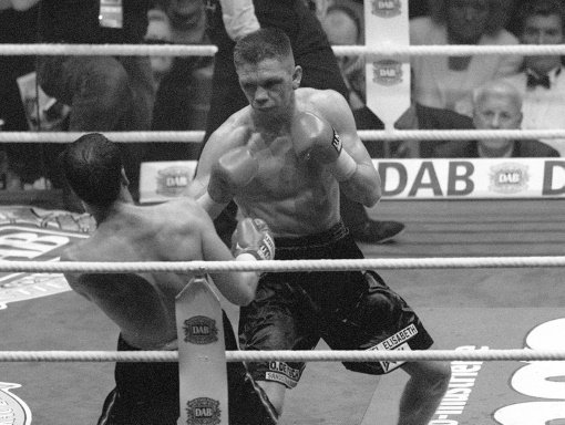 Rocky im Kampf gegen Henry Maske