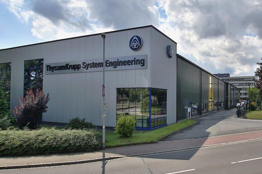 Das Werk in Hohenstein-Ernstthal. Bis Oktober 2021 soll die gesamte Produktion nach Chemnitz verlagert werden.